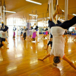 Vibes Anti-gravity - one of 8 best unusual fitness classes in Melbourne