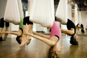 Up the Ante, with Anti-gravity Yoga