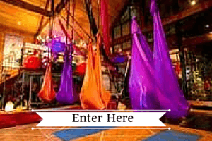 Antigravity Fitness, Aerial Yoga, circus classes and silks