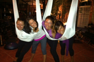 Team Building Aerial Yoga Melbourne