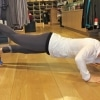 Jess says Anti-gravity yoga class with Margie left me speechless