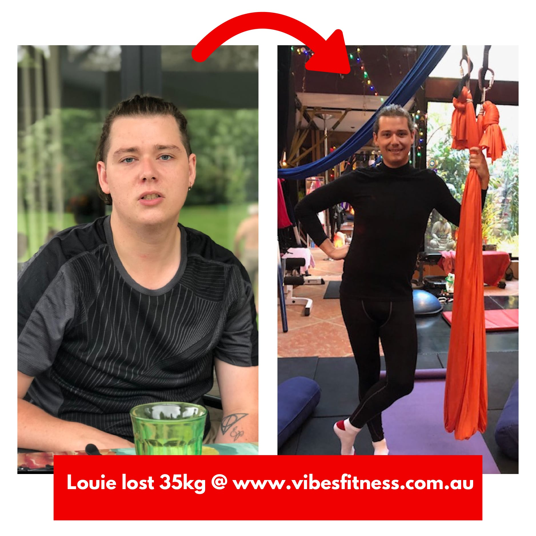 Weight loss - Louise lost 35kg