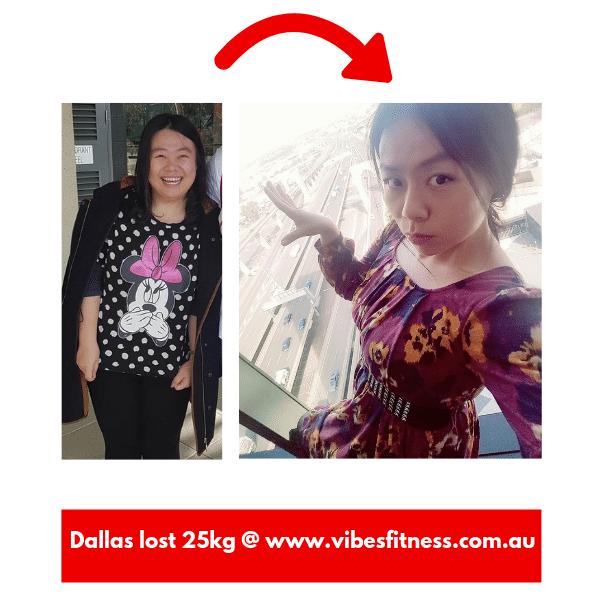 Personal training for Dallas 25 kg